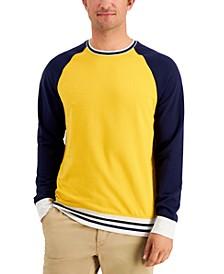 Men's Regular-Fit Colorblocked Fleece Sweatshirt, Created for Macy's