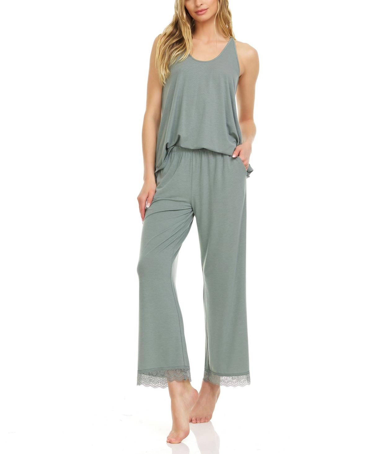 Women's Stephanie Capri Pajama Set