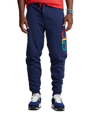폴로 랄프로렌 Polo Ralph Lauren Mens Big & Tall Logo Double-Knit Jogger Pants,Newport Navy