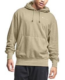 Men's Lightweight Fleece Tonal Logo Hoodie