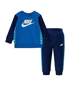 Little Boys Sweatshirt and Pants, 2 Piece Set