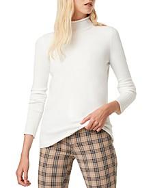 Mock-Neck Sweater
