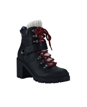 Women's Nature Lug Sole Heeled Hiker Booties Women's Shoes