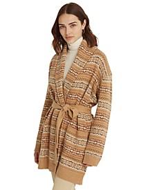 Fair Isle Cardigan Sweater