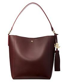 Medium Leather Adley Shoulder Bag