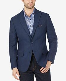 Men's Slim-Fit Wool Blazer