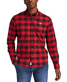 Men's Mascoma River Slim-Fit Quick-Dry Buffalo Check Shirt