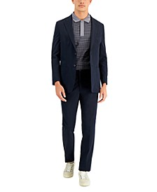 Men's Navy Tech Modern-Fit Suit Separates