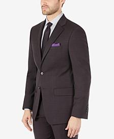 Men's Slim-Fit Wool Suit Separates Jacket