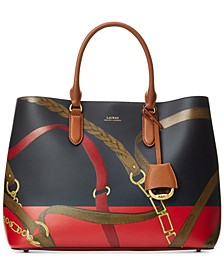 Marcy Large Leather Satchel