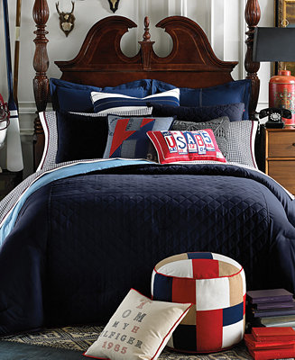 Tommy Hilfiger Hilfiger Prep Navy Collection Bedding