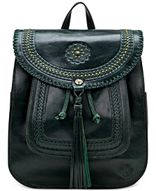 Jovanna Leather Backpack