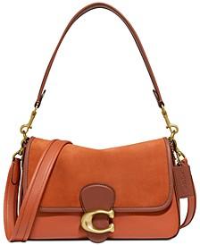 Soft Tabby Leather Shoulder Bag