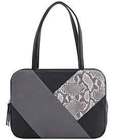 Jeaniee Patchwork Satchel, Created for Macy's