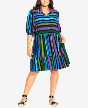 Plus Size Majesty Mini Dress
