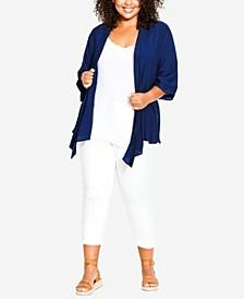 Plus Size Serena Pintuck Kimono