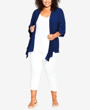 Plus Size Serena Pintuck Jacket