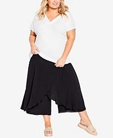 Plus Size Chana Wrap Pants