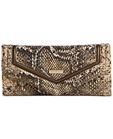Veronica Embossed Leather Wallet