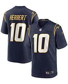 Men's Justin Herbert Navy Los Angeles Chargers Alternate Game Jersey
