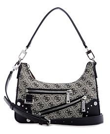 Women's Frankie Top Zip Shoulder Bag