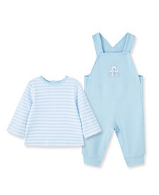 Baby Boys Bears Overall T-shirt and Romper Set, 2 Piece