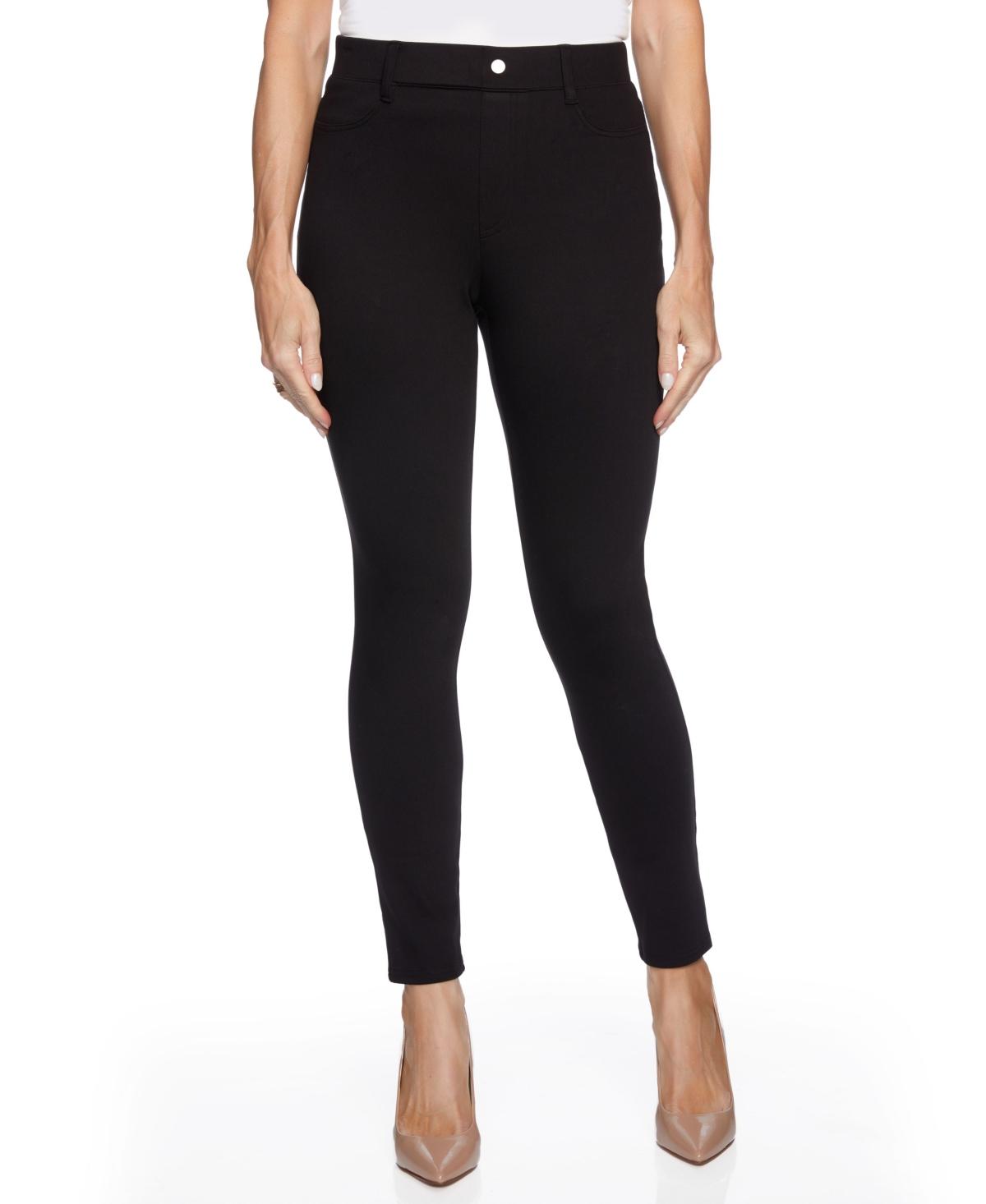 Women's Faux Pocket Pull On Skinny Pant