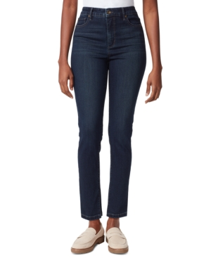 High Rise Ankle Slit Jeans