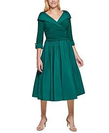 Portrait-Collar Dress