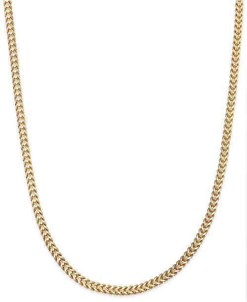 Macy's Franco Chain Necklace in 14k Gold