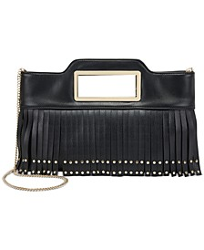 Juditth Fringe Clutch, Created for Macy's
