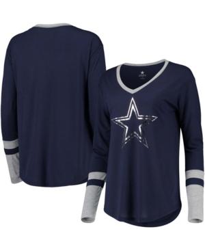 Geneva Long Sleeve V-Neck T-shirt