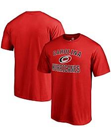 Men's Red Carolina Hurricanes Victory Arch T-shirt