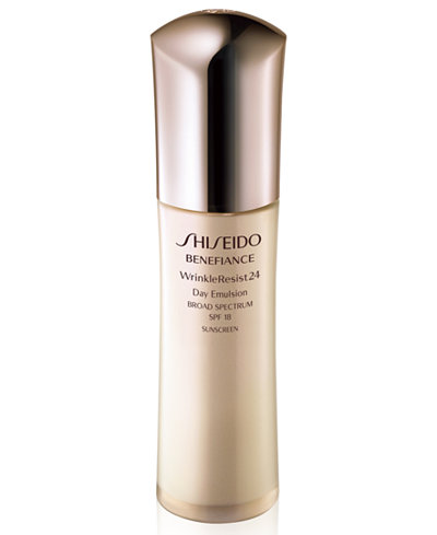 Shiseido Benefiance WrinkleResist24 Day Emulsion SPF 18, 2.5 oz