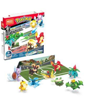 Mega Construx 6 Piece Pokemon Trainer Team Challenge Buildable Figures