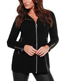 Black Label Petite Sweater Jacket