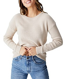 Women's Cotton Pullover Top