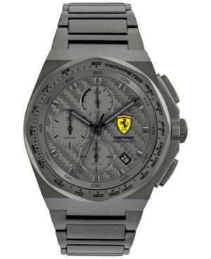 Men's Chronograph Aspire Gray Stainless Steel Bracelet Watch 44mm