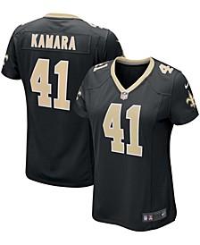 Women's Alvin Kamara Black New Orleans Saints Game Player Jersey