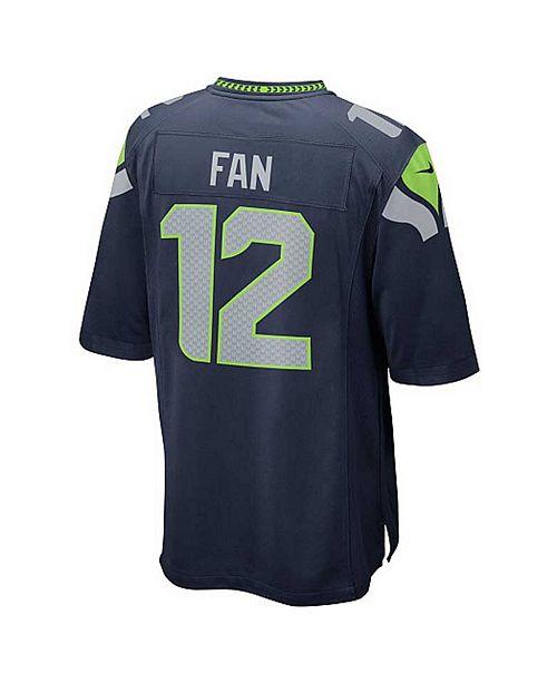 Nike Men's 12th Man Seattle Seahawks Game Jersey