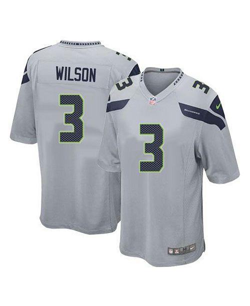 best authentic 96c17 624cb Men's Russell Wilson Seattle Seahawks Game Jersey