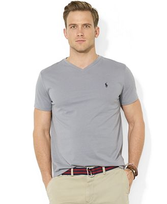 Polo Ralph Lauren Men's Core Medium-Fit V-Neck Cotton Jersey T ...