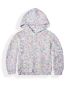 Toddler Girls Hooded Pullover Sweater