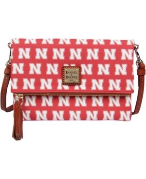 Women's Red Nebraska Huskers Team Color Foldover Crossbody Purse