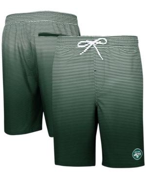 Men's Green New York Jets Ocean Swim Trunks