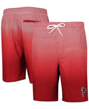 Men's Red Atlanta Falcons Ocean Swim Trunks
