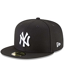 Men's Black New York Yankees 59FIFTY Fitted Hat