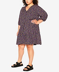 Plus Size Lucia Tiered Dress