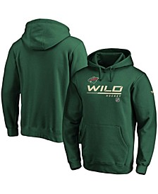 Men's Green Minnesota Wild Authentic Pro Core Collection Prime Pullover Hoodie