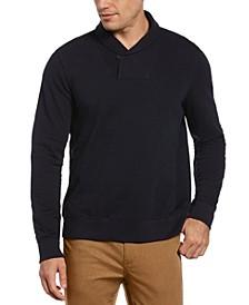 Men's Shawl Collar Pullover Sweater